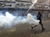 tear gas egyptian protester