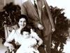 الملك فاروق وزوجته