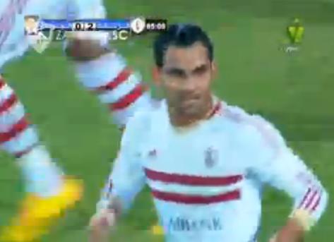هدف الزمالك الثانى|احمد عيد عبدالملك|الزمالك 2-0 الجونه