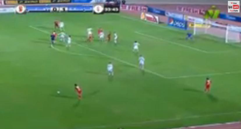 هدف التعادل وليد سليمان في مباراة القمة