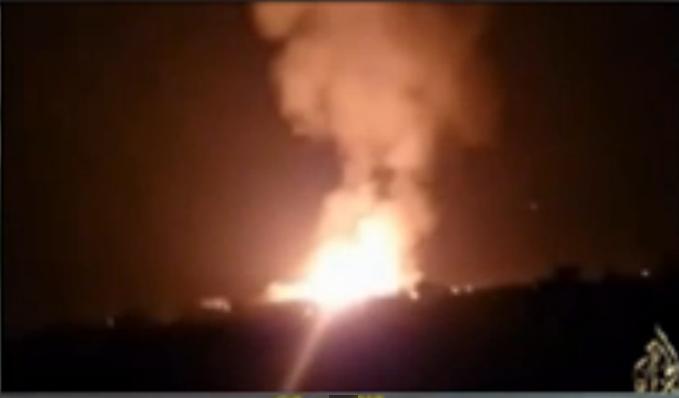 فيديو انفجارات العريش واشتباكات الجيش مع الجماعة الارهابية 29 يناير 2015