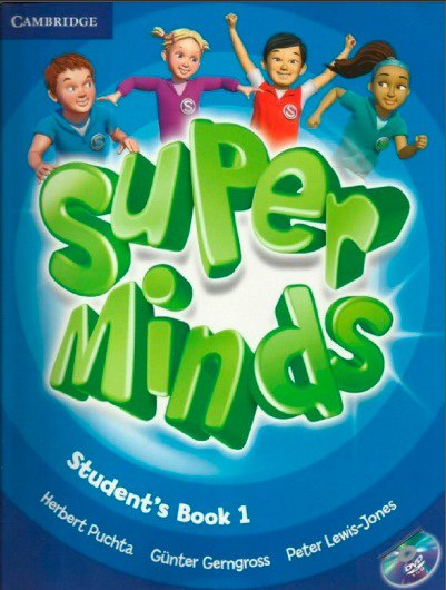 Super Minds 1 to learn English online كورس