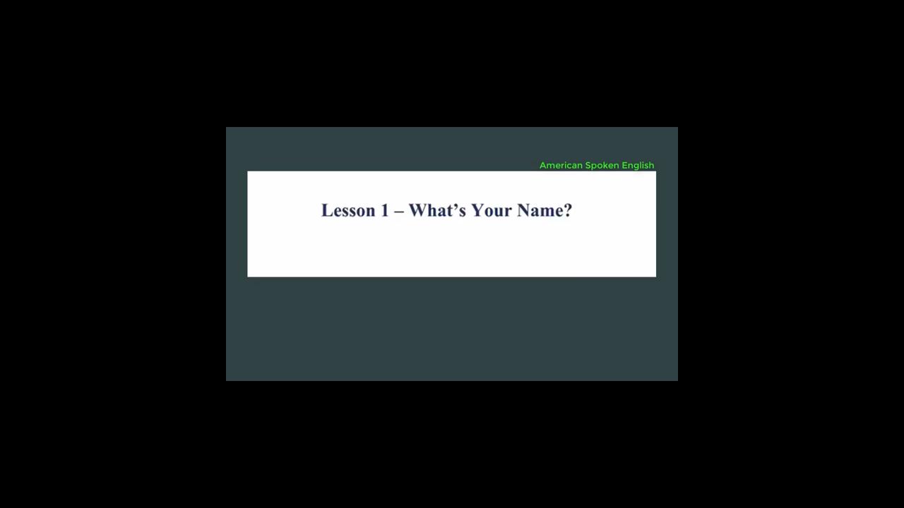 15 دقيقة لتعليم المحادثات اليومية في اللغة الانجليزية جزء 1