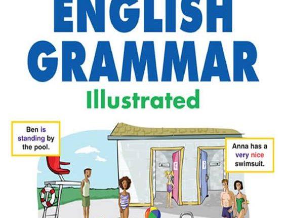 English Grammar تحميل كتاب الجرامر برسومات لطيفة
