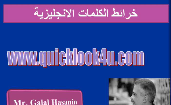 خريطة حفظ الكلمات الانجليزية word mapping مقطع ai